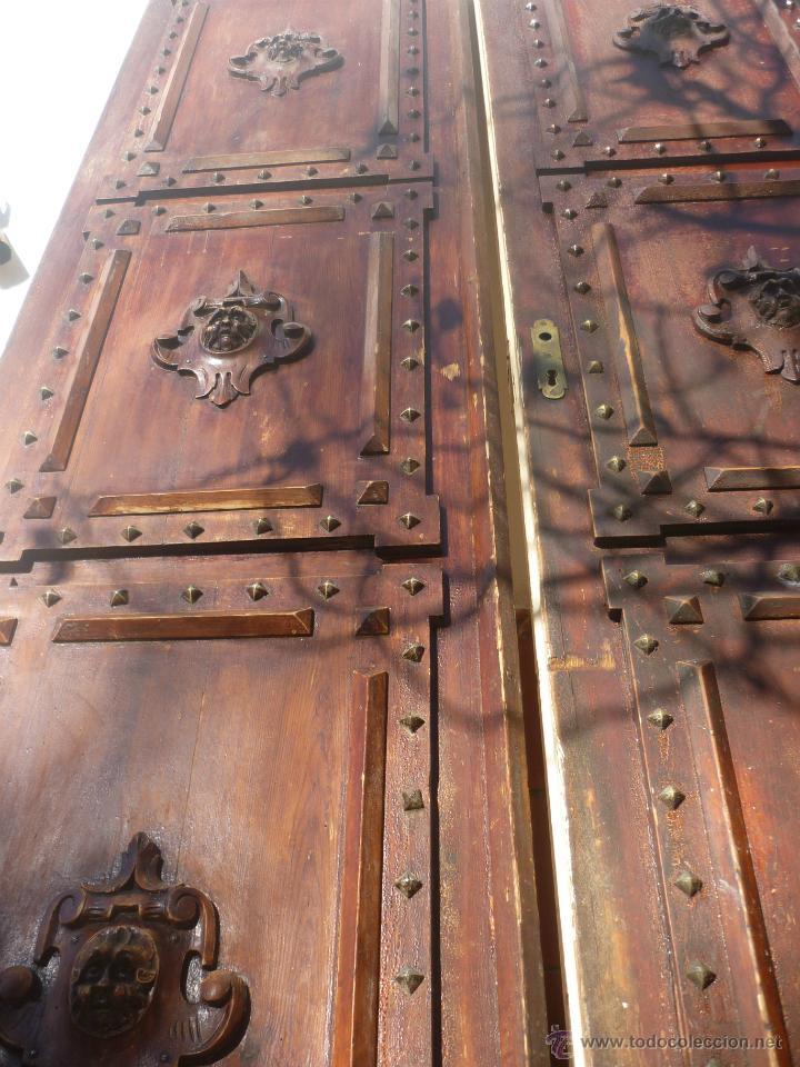 Lujosa puerta antigua r stica de madera maciza comprar for Fotos de puertas de madera antiguas