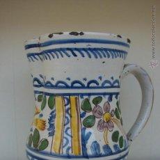 Antigüedades: ANTIGUA JARRA DE MANISES. SIGLO XVIII-XIX. Lote 49493158