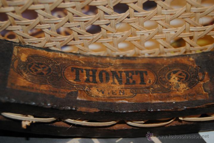 Antigüedades: SILLA ORIGINAL THONET DE 1876 - Foto 2 - 49512309