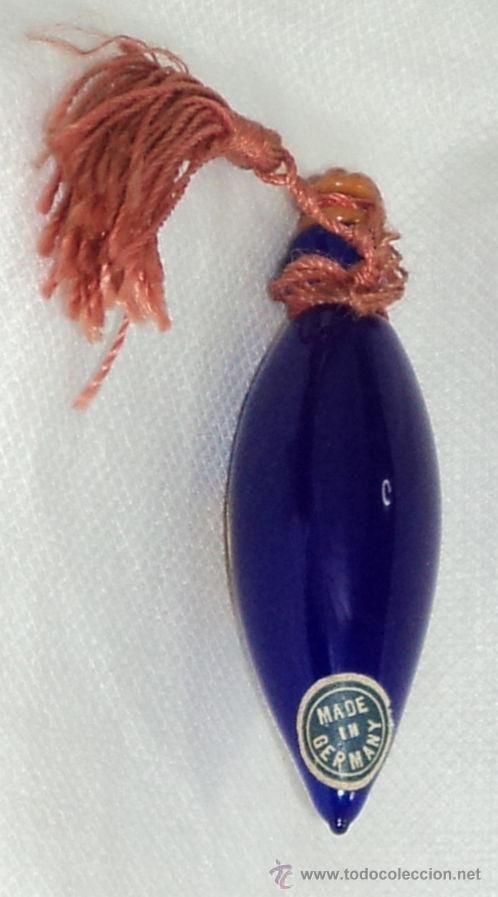 Antigüedades: ANTIGUO PERFUMERO DE MURANO VENEZIA MADE IN GERMANY MIDE 7,5 CM PERFUME - Foto 2 - 49517927