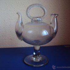 Antigüedades: (ANT-054)BOTIJO DE VIDRIO SOPLADO CATALÁN. SIGLO XIX. Lote 49521741