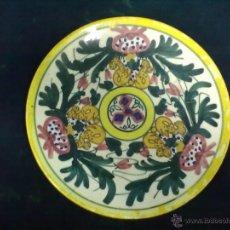 Antigüedades: PLATO COLGAR CERAMICA TALAVERA. Lote 49525329