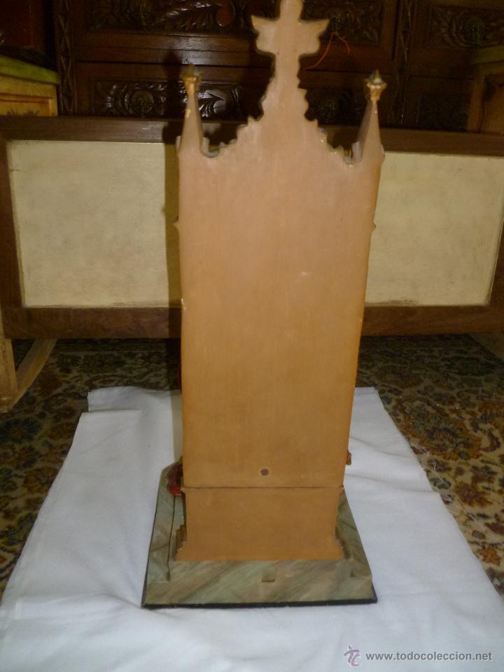 Antigüedades: CRISTO REY SENTADO EN SU TRONO - Foto 4 - 49526749