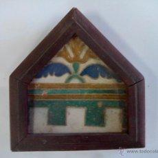 Antiquitäten - 2 ladrillos mudejar antiguos - 49531991