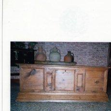 Antigüedades: CAJA ARCA O ARCON XVIII MUY DECORATIVO NOGAL. Lote 49538959