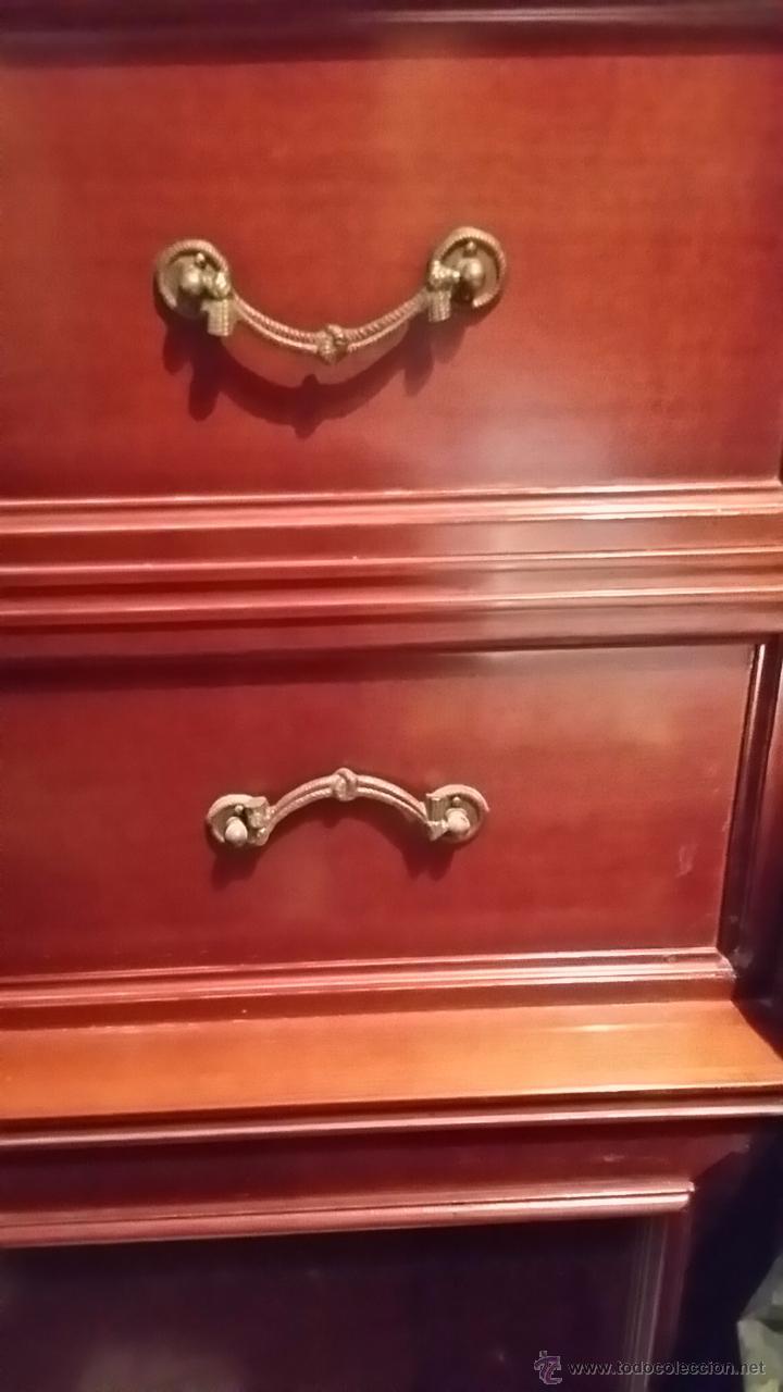 Antigüedades: Mueble Cama Antiguo en Perfecto Estado con más de 40 años de antigüedad - Foto 2 - 49542774