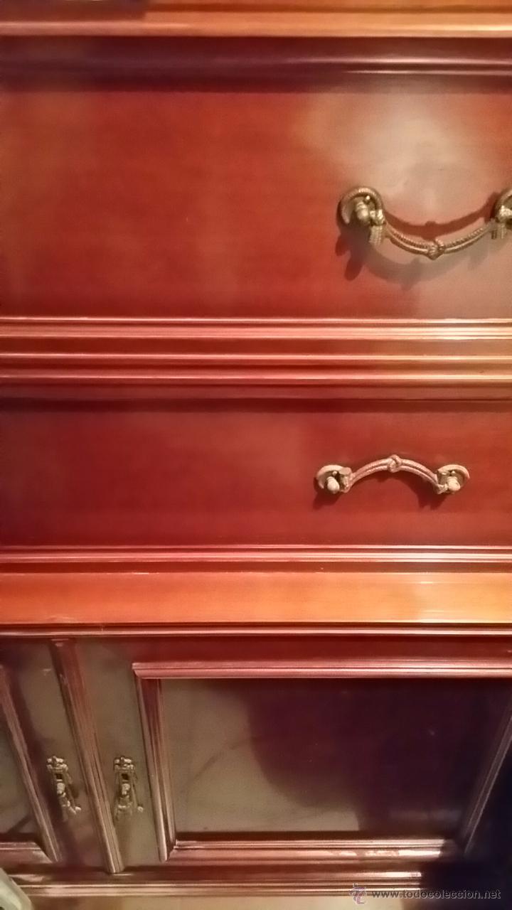 Antigüedades: Mueble Cama Antiguo en Perfecto Estado con más de 40 años de antigüedad - Foto 3 - 49542774