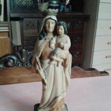 Antigüedades: ANTIGUA VIRGEN DEL CARMEN. Lote 49543758