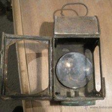Antigüedades: FAROL ANTIGUO. POSIBLEMENTE DEL SECTOR FERROVIARIO.. Lote 49546101