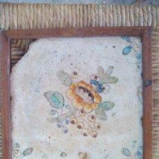 Antigüedades: AZULEJO ENMARCADO . Lote 49573061