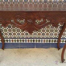 Antigüedades: APARADOR ANTIGUO DE MADERA. Lote 49574837