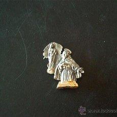Antigüedades: SAN PASCUAL BAYLÓN. CINCELADO EN PLATA ANTIGUO.. Lote 57123384