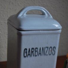 Antigüedades: ANTIGUO BOTE DE CERÁMICA PARA GARBANZOS - IBERO TANAGRA - SANTANDER - CANTABRIA. Lote 49606711