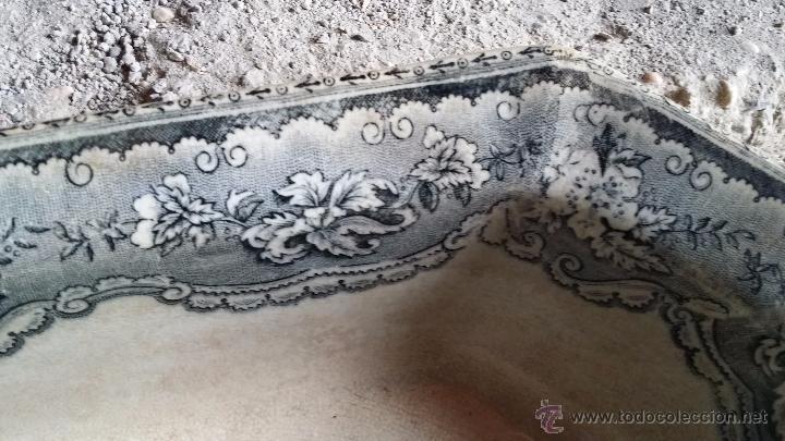 Antigüedades: antigua fuente o ensaladera de cartagena, sellada. - Foto 3 - 49606929