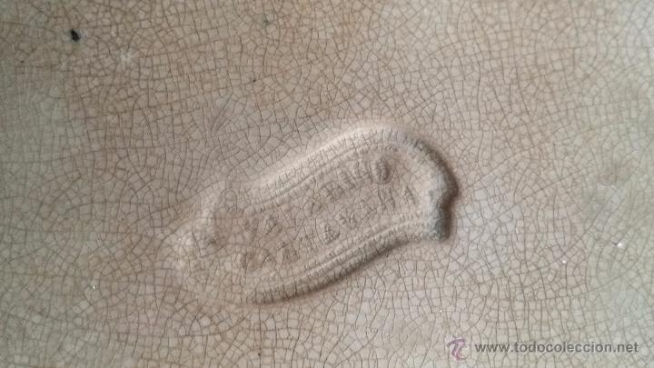 Antigüedades: antigua fuente o ensaladera de cartagena, sellada. - Foto 7 - 49606929