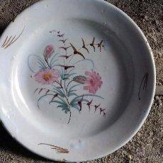 Antigüedades: ANTIGUA FUENTE MURCIANA PINTADA A MANO. Lote 49607081