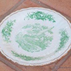 Antigüedades: PLATO DE CERÁMICA DECORADO. Lote 49613848