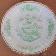 Antigüedades: PLATO DE CERÁMICA DECORADO. Lote 49613905