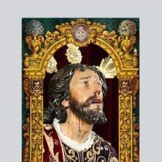 Antigüedades: AZULEJO 20X30 DEL CRISTO DE MONTESIÓN DE SEVILLA. Lote 49623951