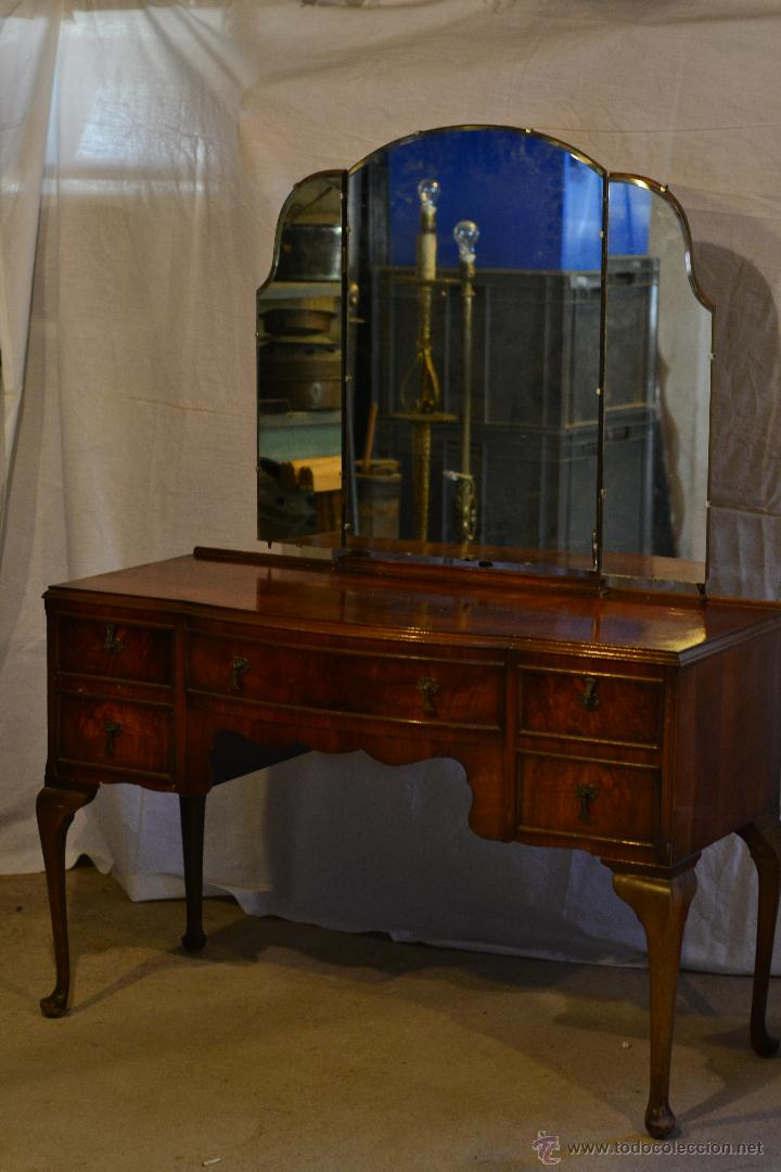 mueble tocador ingles reina ana comprar muebles. Black Bedroom Furniture Sets. Home Design Ideas