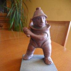 Antigüedades: FIGURA CERÁMICA TARASCA DE COLIMA - MÉJICO. Lote 49641467