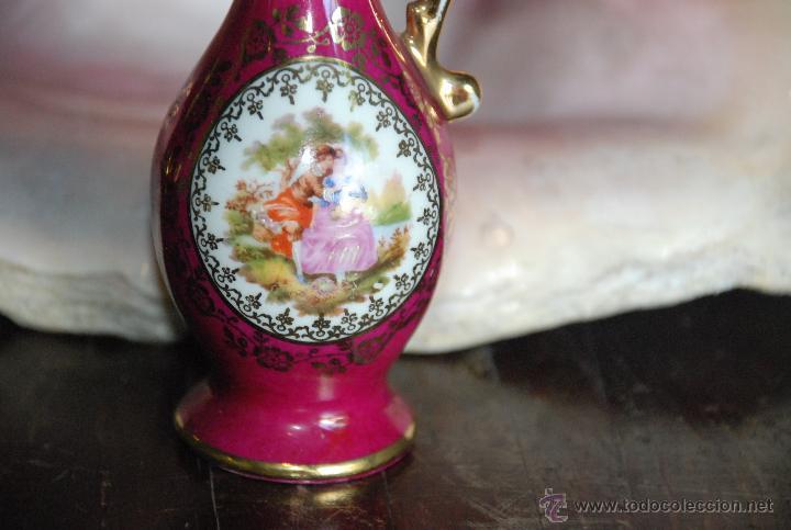 Antigüedades: PRECIOSA JARRITA DE PORCELANA FRANCESA DE LIMOGES - Foto 3 - 49649932