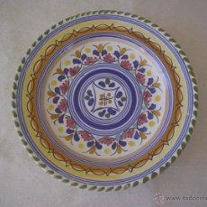 Antiquitäten - PLATO CERÁMICA POPULAR HERMANOS ESCOBAR - PUENTE DEL ARZOBISPO - 49656202