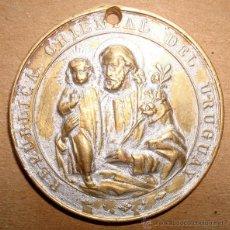 Antigüedades: MEDALLA RELIGIOSA CÍRCULO CATÓLICO DE OBREROS 1885. Lote 49668276