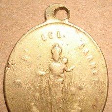 Antigüedades: MEDALLA RELIGIOSA NUESTRA SEÑORA DEL CARMEN . Lote 49668410
