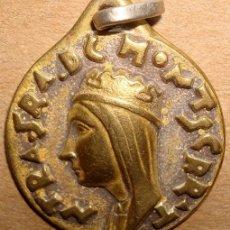 Antigüedades: MEDALLA RELIGIOSA DE NUESTRA SEÑORA DE MONTSERRAT . Lote 49668722