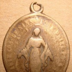 Antigüedades: MEDALLA RELIGIOSA DE LA VIRGEN DEL CARMEN . Lote 49668840