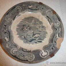 Antigüedades: PLATO DE LOZA. Lote 49686311