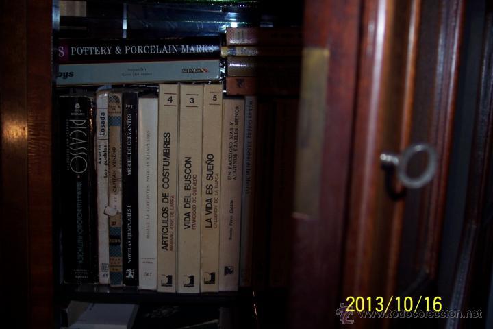 Antigüedades: VITRINA, ESCRITORIO Y COMODA, TRES MUEBLES EN UNO, CAOBA Y MARQUETERIA - Foto 3 - 49711410