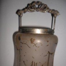 Antigüedades: ANTIGUO GALLETERO MODERNISTA. Lote 49716368