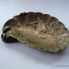 Antigüedades: ANTIGUO DESPOJADOR MODERNISTA DE BRONCE. Lote 49719596