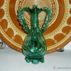 Antiquités: VINAGRERAS DE VIDRIO SOPLADO MALLORQUÍN. Lote 49720858