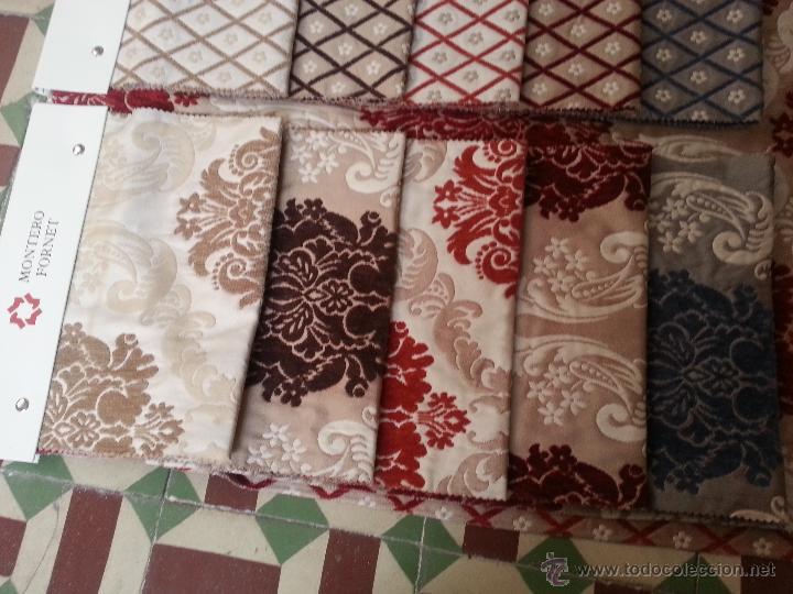 Antigüedades: TELA -MONTERO FORNET ESPECTACULARES MUESTRARIOS DE TELAS IDEAL telas patchwork GRAN CALIDAD PERFECTO - Foto 3 - 49724745