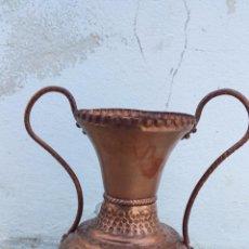 Antigüedades: ANTIGUO JARRON DE COBRE.. Lote 49739606