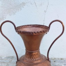 Antigüedades: ANTIGUO JARRON DE COBRE.. Lote 49739881