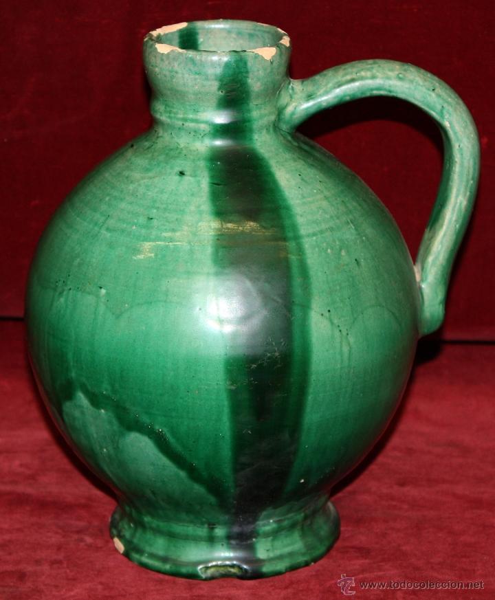 ANTIGUA PERULA O JARRA EN CERÁMICA DE LUCENA (Antigüedades - Porcelanas y Cerámicas - Lucena)
