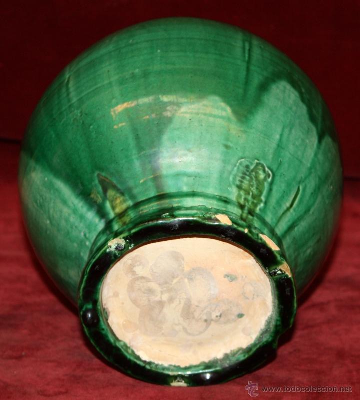 Antigüedades: ANTIGUA PERULA O JARRA EN CERÁMICA DE LUCENA - Foto 5 - 95543023