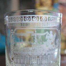 Antigüedades: ANTIGUO VASO DE CRISTAL DE LA GRANJA. SIGLO XIX. Lote 93112087