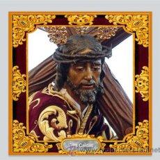 Antigüedades: AZULEJO 10X10 DEL CRISTO DE LAS TRES CAIDAS DE HUELVA.. Lote 121971812