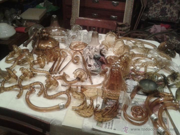 Lotazo murano de piezas de lamparas de cristal comprar - Piezas para lamparas ...