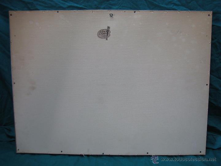 Antigüedades: Santa Cena en lamina de cobre plateado.65x48 cm - Foto 6 - 49760888