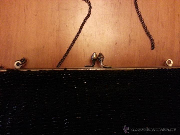 Antigüedades: vitange original marca sur kana surkana bolso azabache monedero cartera . original epoca - Foto 6 - 49791219