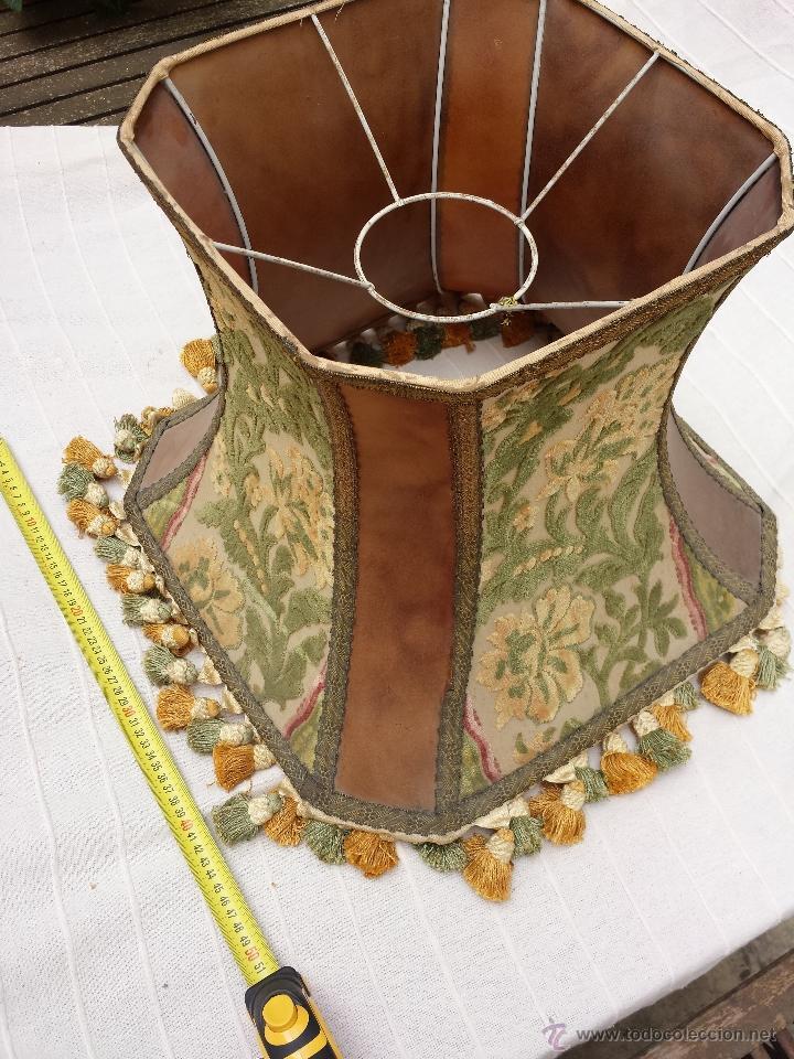 ropaVendido en lampara cuero de Pantalla i antigua para NmvnOw80