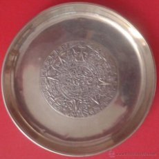Antigüedades: BANDEJITA DE PLATA MEXICANA. Lote 49860301
