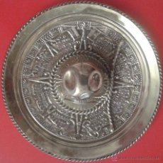 Antigüedades: SOMBRERO MEXICANO EN PLATA GRANDE. Lote 49860492