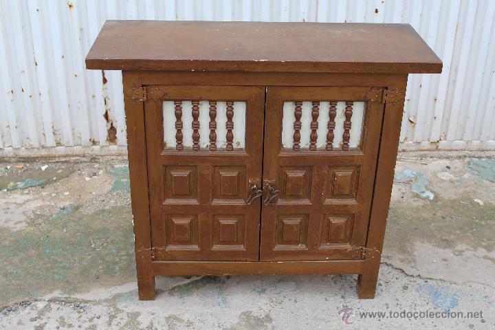 Taquillon castellano mueble recibidor consola e comprar - Muebles castellanos antiguos ...